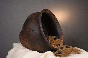 L'olla con i semi di Cislago, foto Soprintendenza Archeologia della Lombardia (2)